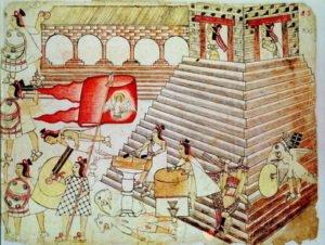 A spirituális fejlődés útjai - Maja és Azték emberáldozatok