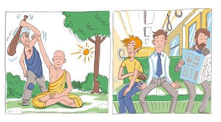 A meditáció egy hihetetlenül éber állapot, nem 5-10 perc lazítás…